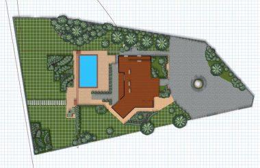 План градина 800